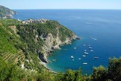 Corniglia, Cinque Terre, Italië Royalty-vrije Stock Foto