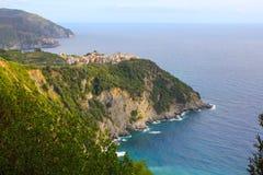 Corniglia, Cinque Terre, Italië Royalty-vrije Stock Afbeelding