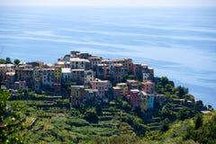 Corniglia, Cinque Terre, Italië Stock Afbeeldingen