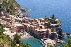Corniglia, Cinque Terre, Italia Imágenes de archivo libres de regalías