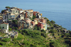 Corniglia, Cinque Terre, Italia Fotos de archivo libres de regalías