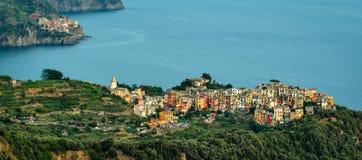 Corniglia Cinque Terre (Italian Riviera Liguria) Stock Images