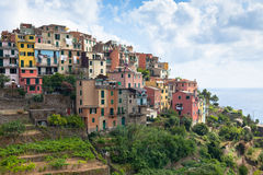 Corniglia, Cinque Terre, Italien lizenzfreies stockbild