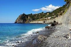 Corniglia Cinque Terre, Italien Arkivfoton