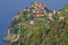 Corniglia,Cinque Terre,Italy Royalty Free Stock Photo