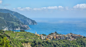 Corniglia - Cinque Terre, Italy Royalty Free Stock Photo