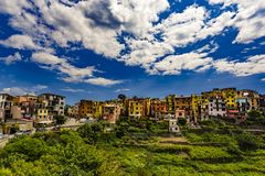 Corniglia, Cinque Terre, Italy imagem de stock
