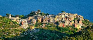 Corniglia (Cinque Terre Italy) Royalty Free Stock Photos