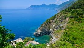 Corniglia in Cinque Terre, Italy Stock Photos
