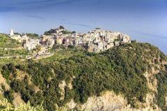 Corniglia Cinque Terre Stock Photo