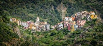 Corniglia, Italia Imagenes de archivo