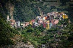 Corniglia, Italia Fotos de archivo libres de regalías