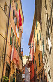 Corniglia, piękna wioska w Cinque Terre parku narodowym Fotografia Royalty Free