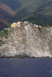 Corniglia rock Stock Photography