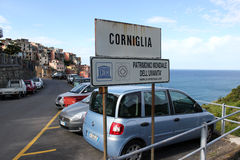 Corniglia Royalty Free Stock Images