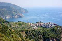 Corniglia village Stock Photography