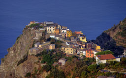 Corniglia village Royalty Free Stock Photo