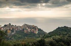 Corniglia village Stock Images