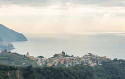 Corniglia village Stock Image