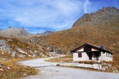 Cornisello-Schutz in Adamello - alpiner Gruppe Presanella, Italien, Europa Stockbild