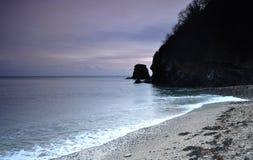 Cornish ακτή το χειμώνα Στοκ εικόνες με δικαίωμα ελεύθερης χρήσης
