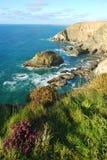 Cornish ακτή Στοκ φωτογραφία με δικαίωμα ελεύθερης χρήσης