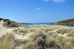 Cornish ακτή Στοκ Εικόνα