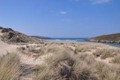 Cornish αμμόλοφοι άμμου Στοκ εικόνα με δικαίωμα ελεύθερης χρήσης