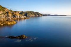Cornish γραμμή ακτών Στοκ Φωτογραφίες