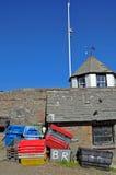 Cornish εξοπλισμός αλιείας στοκ φωτογραφία