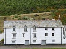 Cornish εξοχικά σπίτια Στοκ Εικόνες