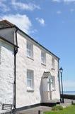 Cornish εξοχικά σπίτια Στοκ Εικόνα