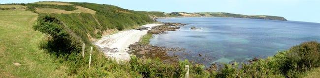 Cornish θάλασσα όρμων Στοκ Εικόνες