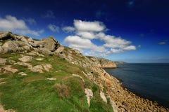 Cornish καλοκαίρι μονοπατιών α&pi Στοκ Εικόνα