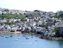 Cornish λιμενική σκηνή στοκ φωτογραφία με δικαίωμα ελεύθερης χρήσης