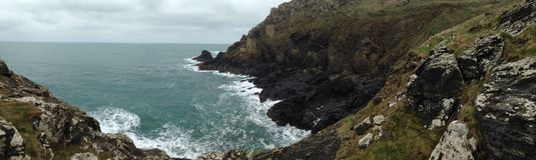 Cornish ορυχείο κασσίτερου Στοκ Εικόνες