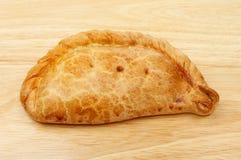 Cornish πίτα στο ξύλο Στοκ φωτογραφίες με δικαίωμα ελεύθερης χρήσης
