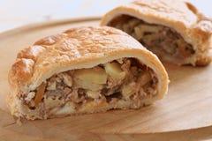 Cornish πίτα Στοκ Φωτογραφίες
