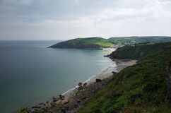 Cornish πορεία ακτών Στοκ Εικόνες