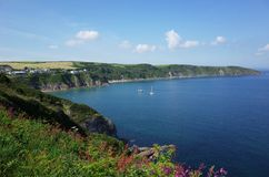 Cornish πορεία ακτών Στοκ Εικόνα