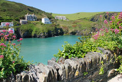 Cornish τοπίο στοκ φωτογραφίες με δικαίωμα ελεύθερης χρήσης
