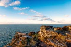 Cornish Cliffs Stock Image