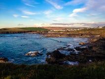 Cornish coast. Royalty Free Stock Photography