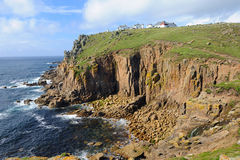 Cornish Coast Lands End Stock Images