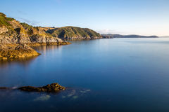 Cornish coast line Stock Photos