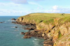 Cornish Coast, Lizard Point Royalty Free Stock Photography