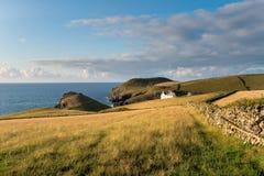 The Cornish Coast at Port Quin Royalty Free Stock Photo
