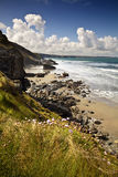 Cornish Coast Stock Photo