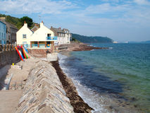 Cornish Coastal Village Stock Photo