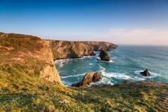 Cornish Coastline at Park Head Stock Photo